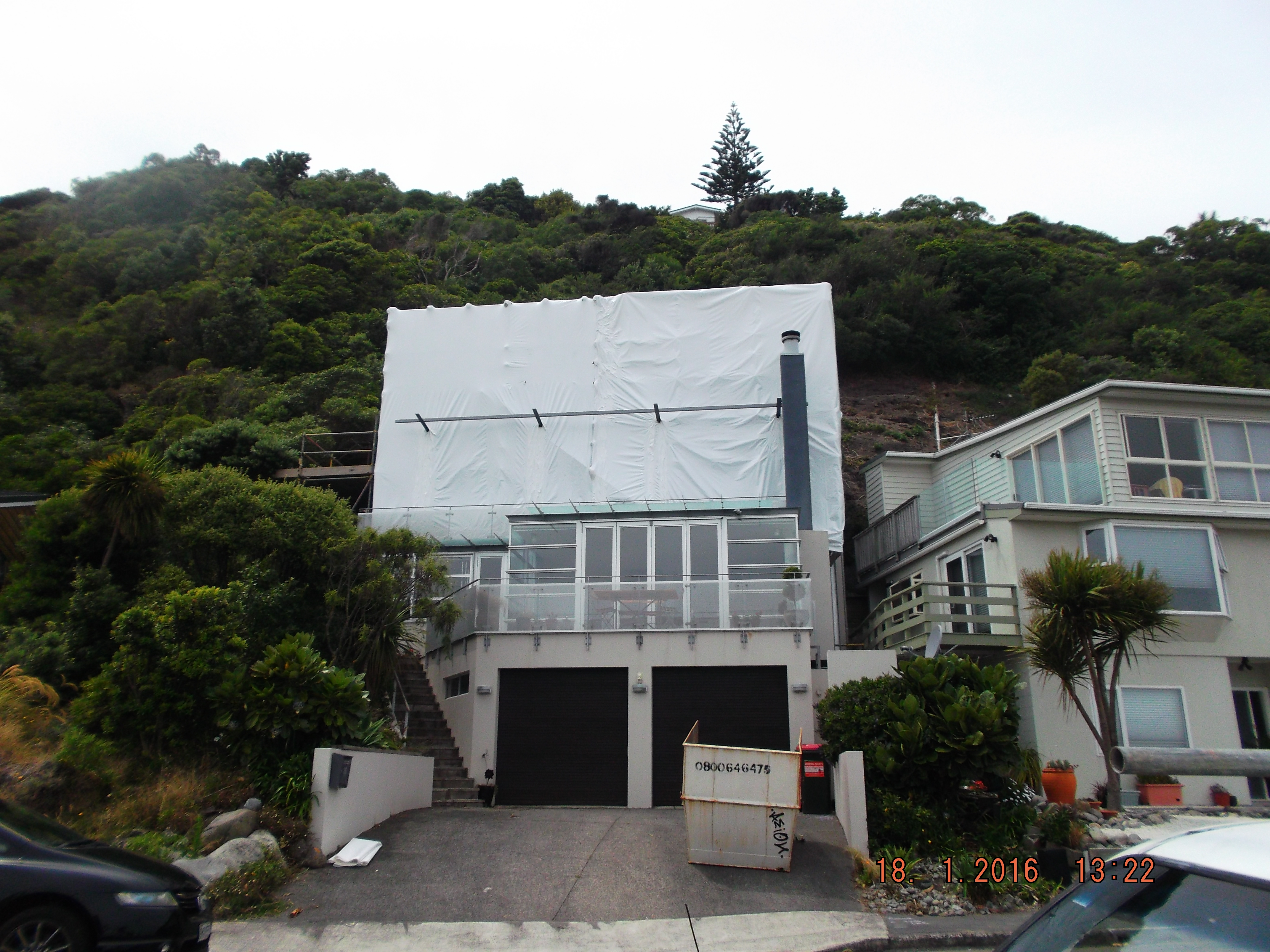 Wellington Shrinkwrap Weather Containment For Roofing