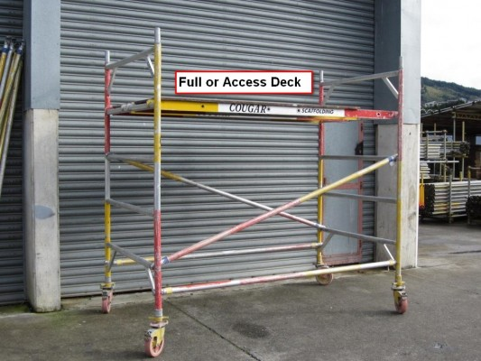 Step 5 - Deck (Full or access)